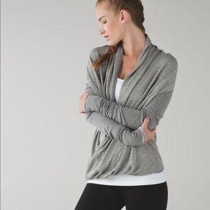 Lululemon Iconic Wrap heathered grey